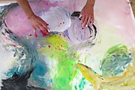 """""""Intuitives Malen"""" Birgit Gill"""